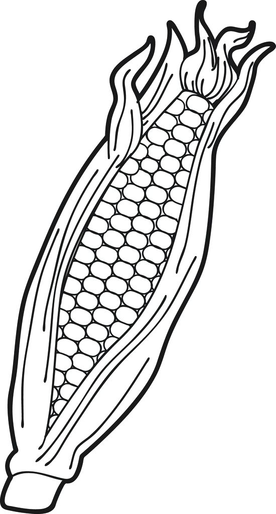 550x1024 coloring ear harmonious ear coloring pages ear of corn