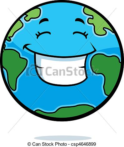 397x470 earth smiling a cartoon planet earth happy and smiling