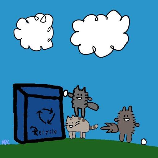 512x512 Earth Day Drawing Pusheen The Cat Amino Amino