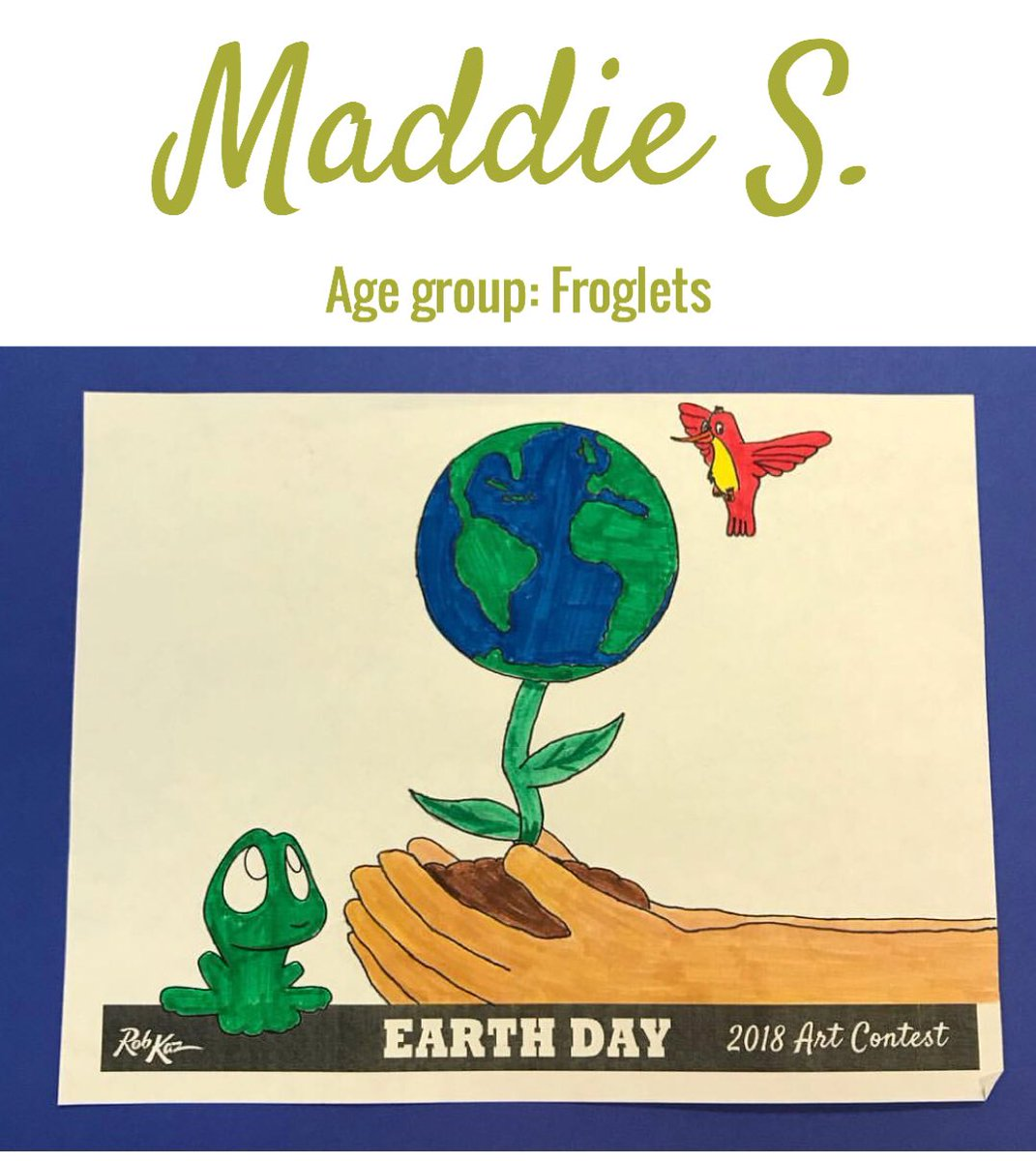 1071x1200 Earth Day Art Contest Entries