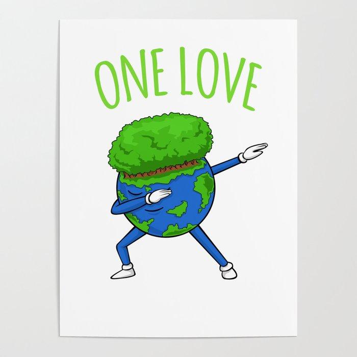 700x700 One Love Dabbing Earth