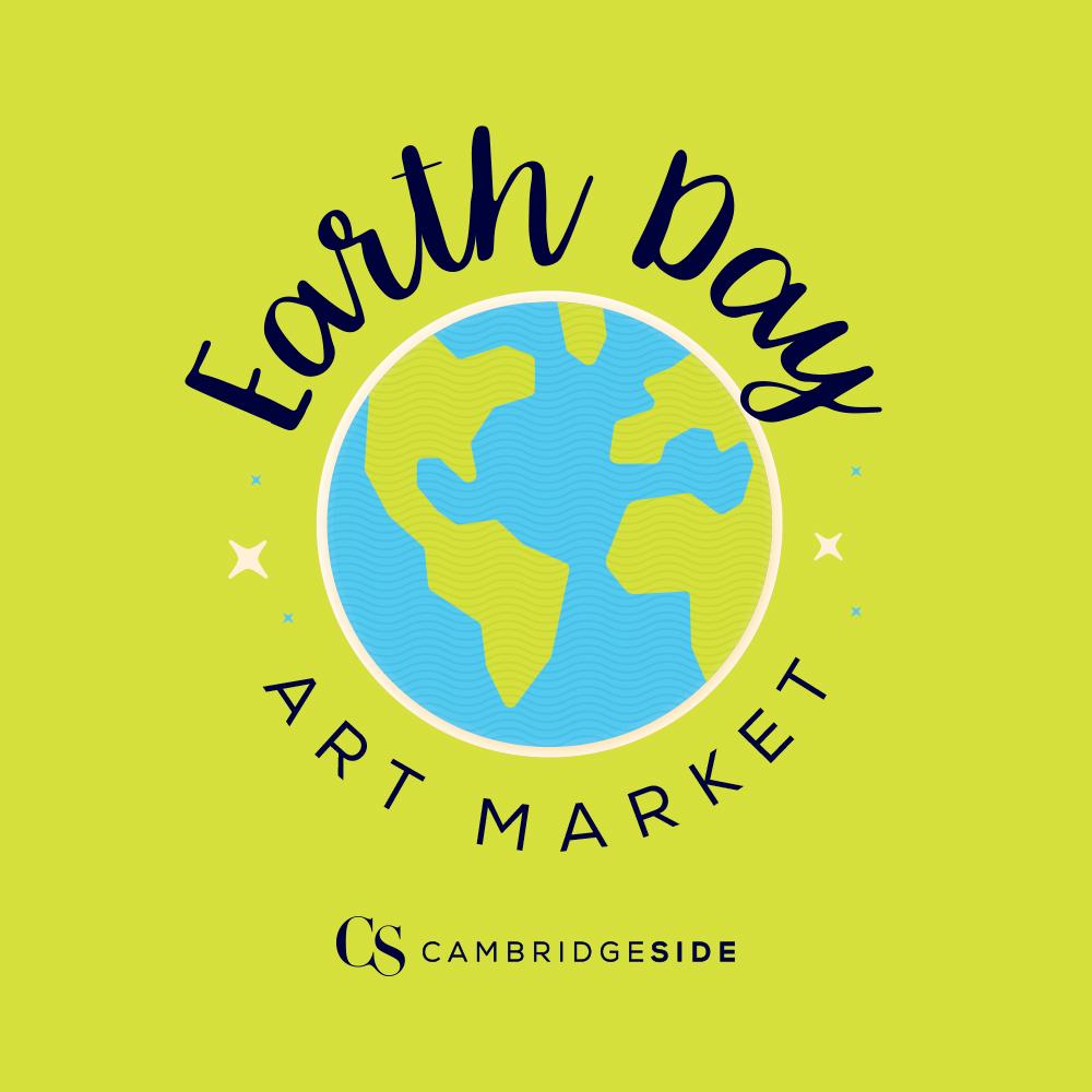 1000x1000 Cambridgeside Presents Weekend Earth Day Art Market