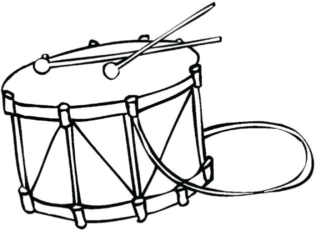 640x461 Free Earth Day Coloring Pages Fresh Drumset Drawing