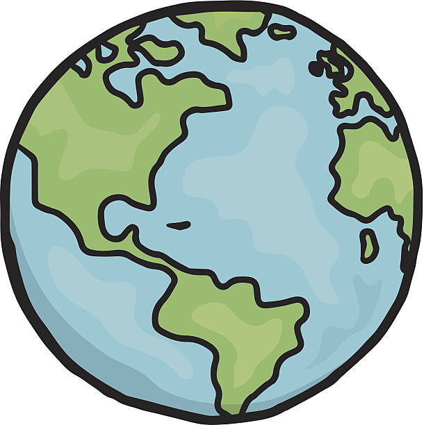 610x612 Earth Drawing Clipart