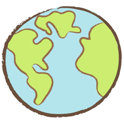 256x256 Collection Of Free Earth Drawing Cute Download On Ui Ex