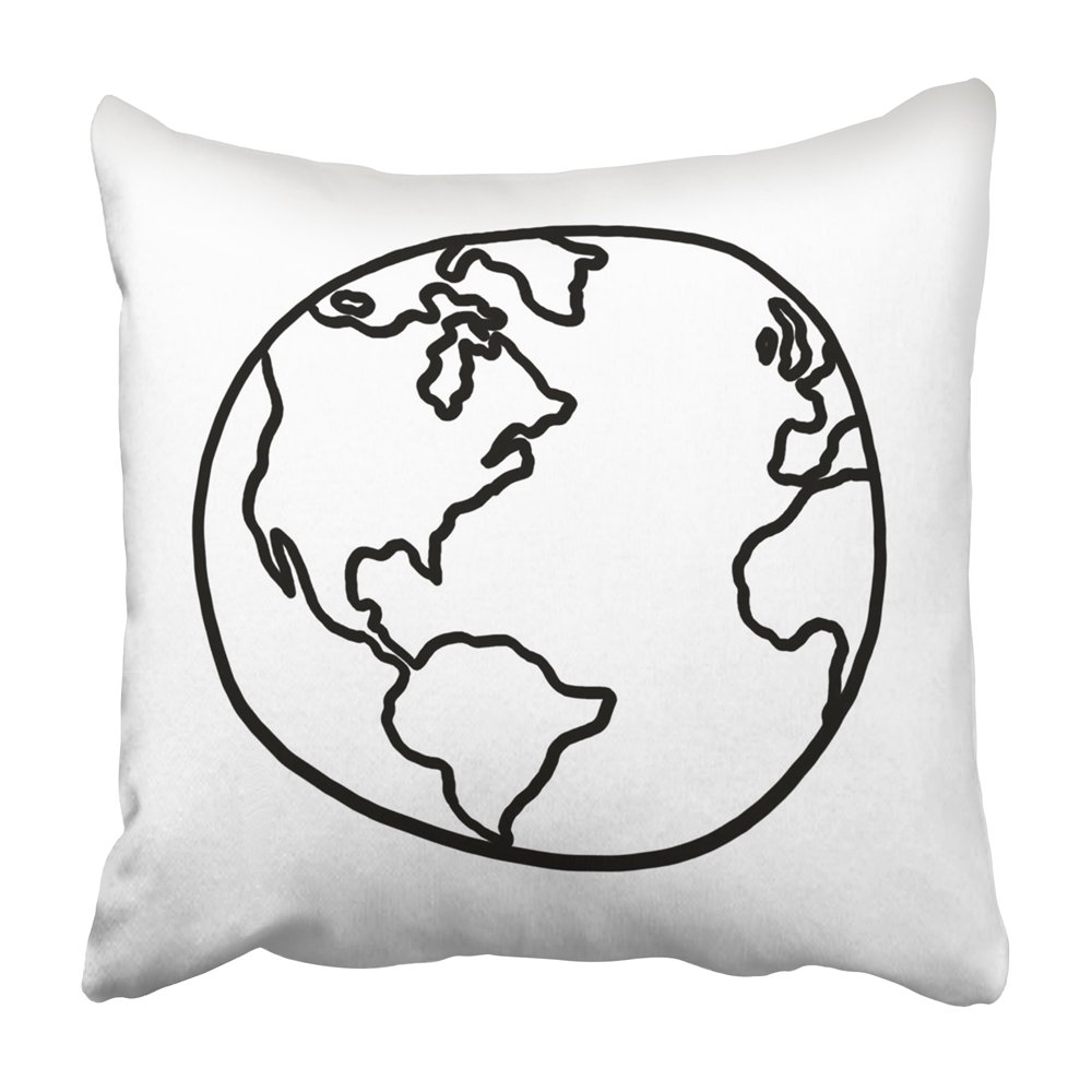 1000x1000 Emvency Decorative Throw Pillow Covers Cases Draw