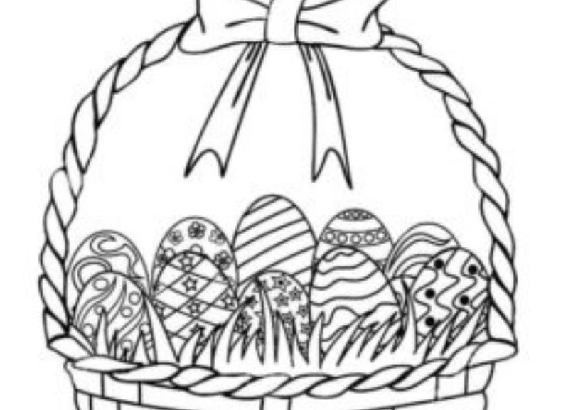 813x577 Easter Drawings
