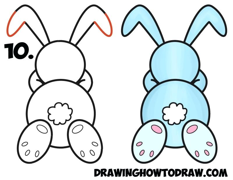 800x618 draw simple bunny bunny draw simple easter bunny