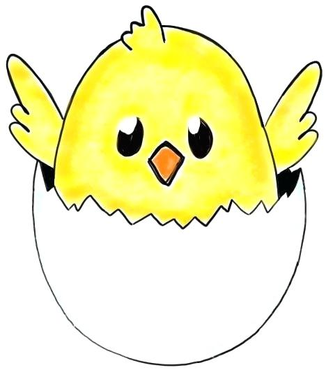 468x530 Easter Cartoon Drawings Today I Will Show You How To Draw