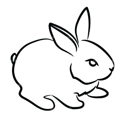420x420 Easy To Draw Easter Bunny How To Draw Easter Bunny Feet