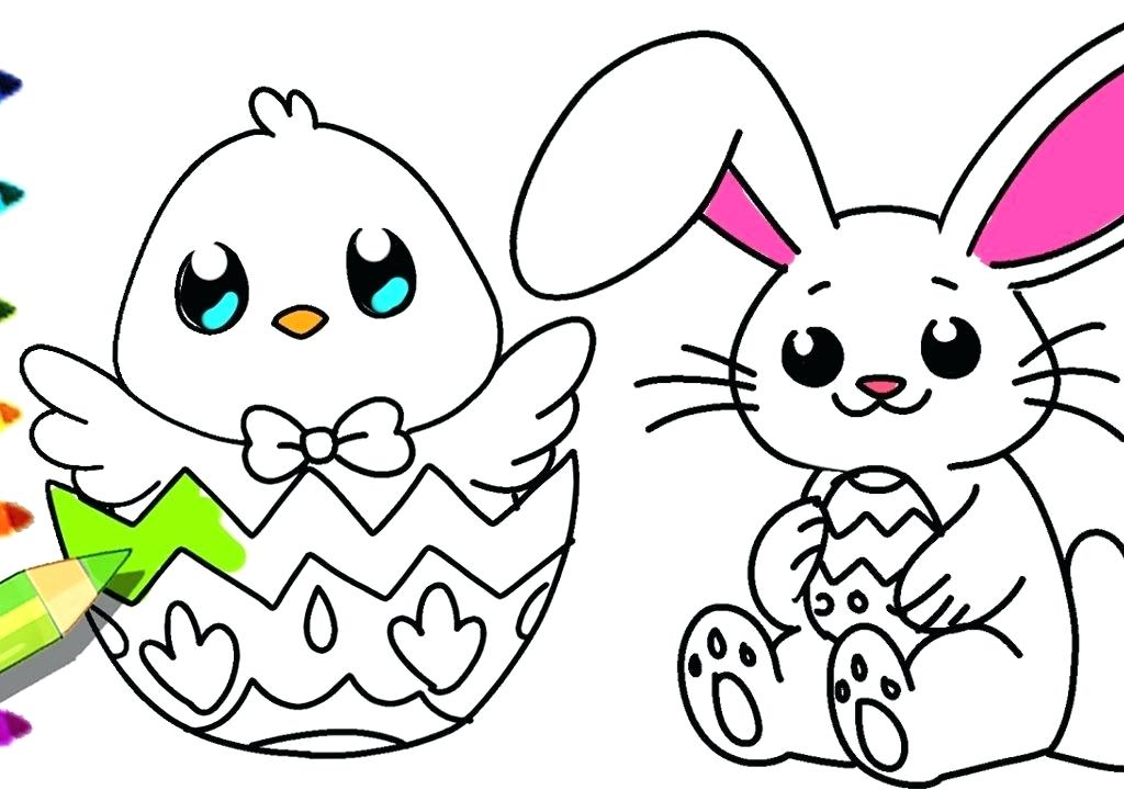 1024x720 Printable Easter Bunny Coloring Pages Bunny Pages To Color Free
