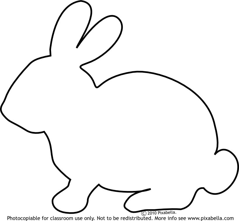 819x757 Cute Bunny Pictures To Color Bunny Rabbit Free Clip Art