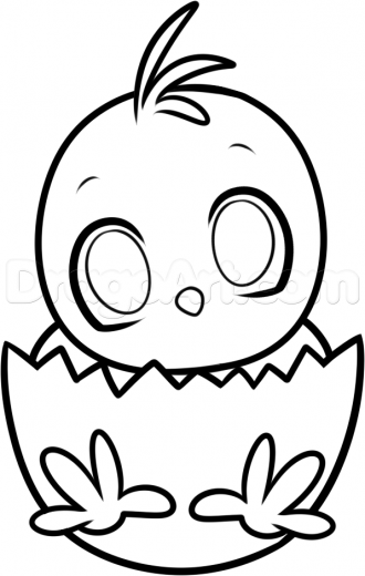 330x520 Easter Chick Drawings Happy Easter Thanksgiving