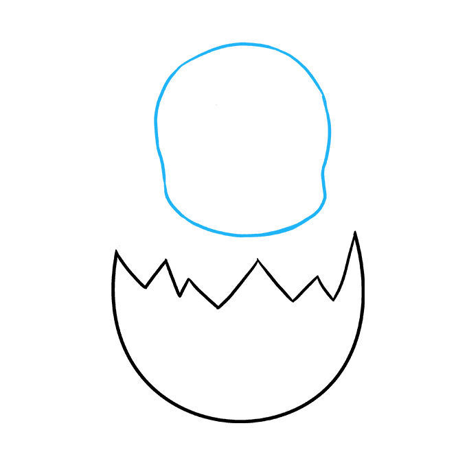 680x678 How To Draw An Easter Chick