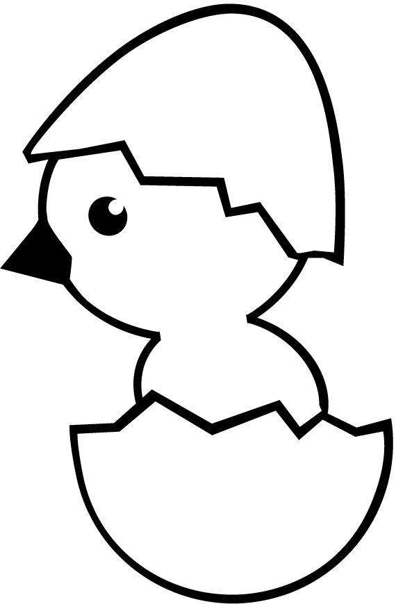 570x870 Chicks Hatching From Egg Preschool Art