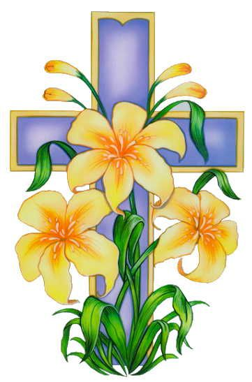 361x547 easter cross easter easter religious, easter illustration