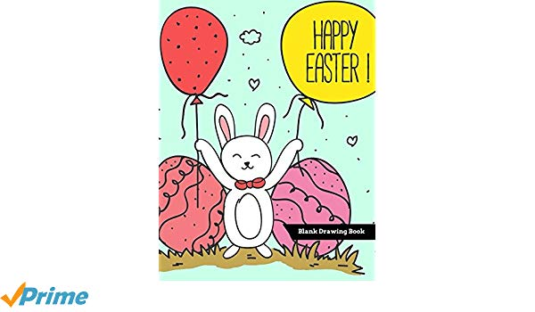 600x350 happy easter blank drawing book happy easter day blank books