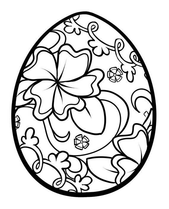 570x706 free easter egg coloring pages unique how to draw a easter egg