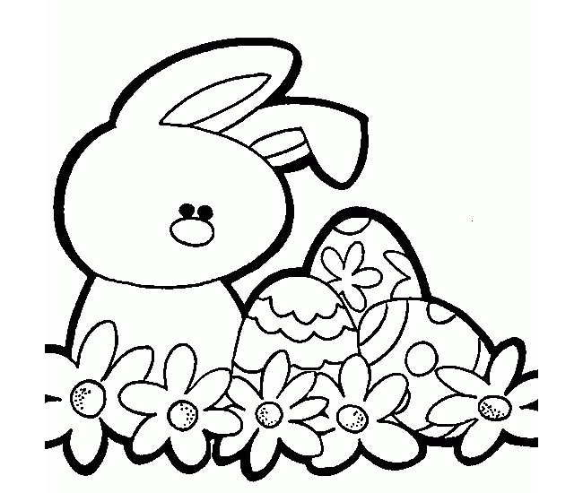 graphic relating to Easter Bunny Printable Template titled Easter Drawing Templates Totally free obtain most straightforward Easter Drawing