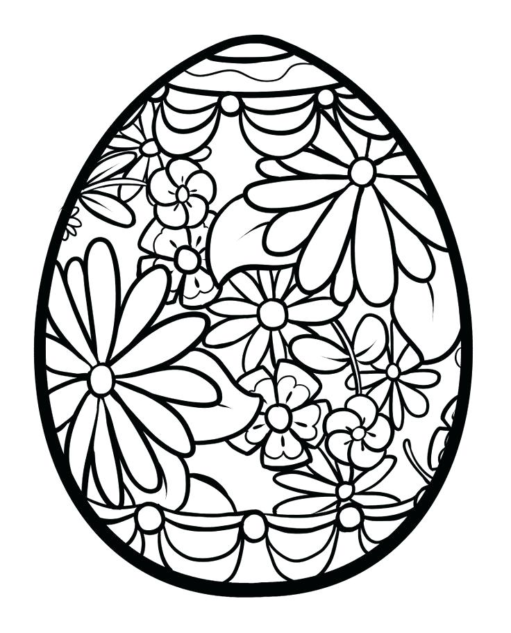 736x911 easter eggs printable coloring pages colouring sheets for eggs egg
