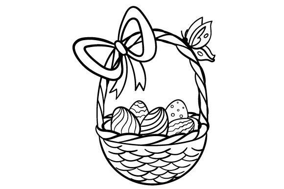 580x386 Easter Egg Basket