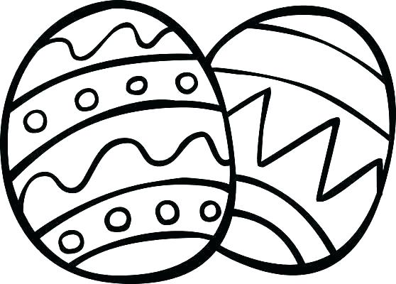 558x400 Coloring Pages Easter Eggs Basket