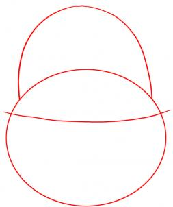 253x302 How To Draw An Easter Basket, Step
