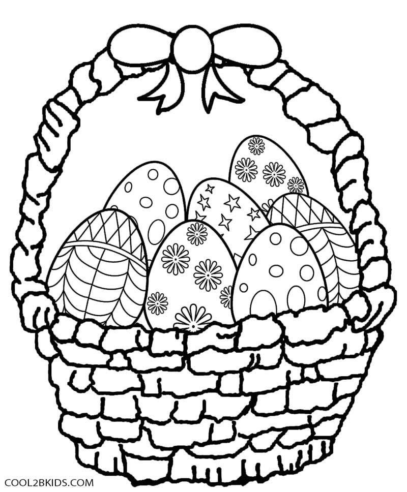 800x968 Easter Basket Coloring Pages Coloring Pages For Children Easter