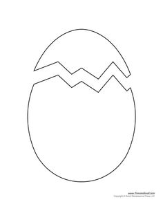 image relating to Printable Eggs called Easter Egg Drawing Template No cost obtain most straightforward Easter Egg