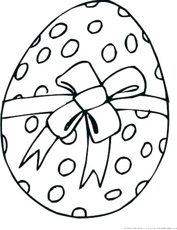 349x454 Easter Egg Colouring Template Printable Colouring Pages Easter
