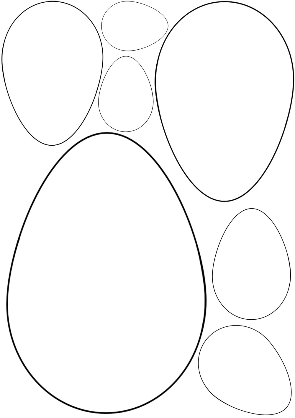 1000x1415 Easter Egg Drawing Templates Hd Easter Images