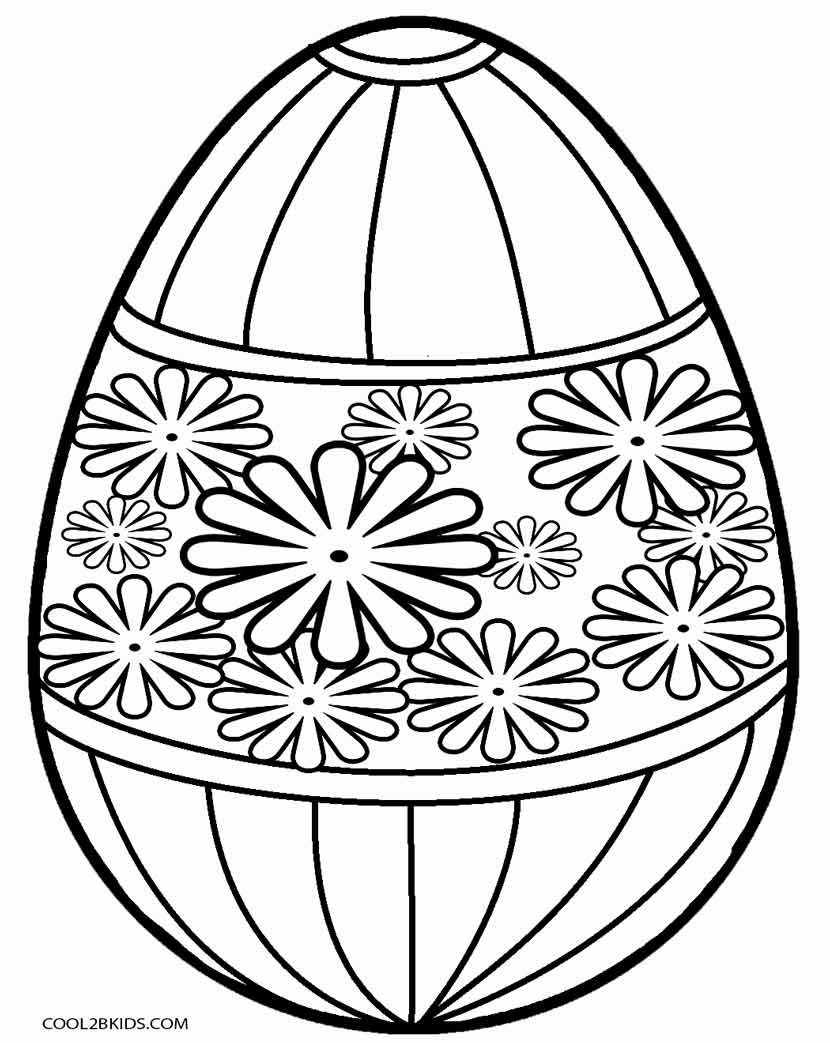 830x1043 Easter Egg Drawing To Colour At Getdrawings Com Free For Personal