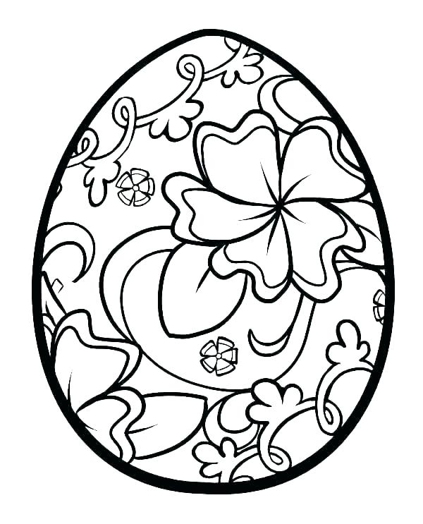600x743 Easter Egg Print Outs Free Printable Easter Egg Basket Templates