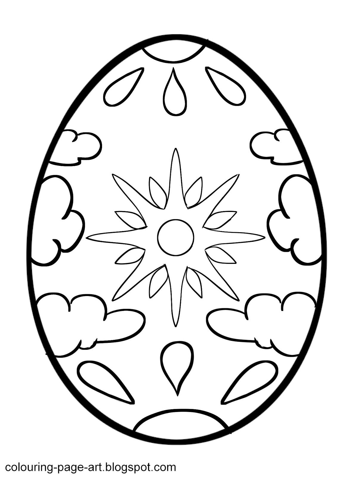 1200x1600 Easter Egg Printable Colouring Pages Easter Egg Designs Easter