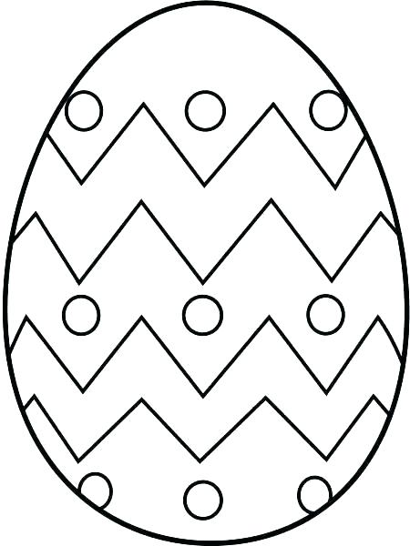 450x600 Easter Egg Printable Egg Printable Coloring Pages Egg Coloring