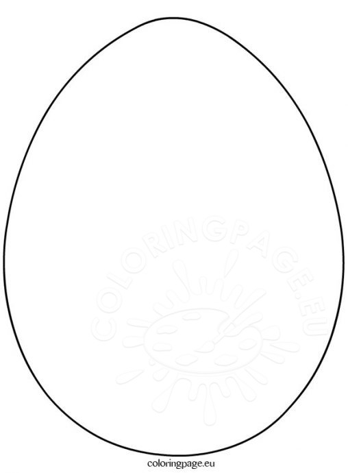 508x690 Easter Egg Templates To Print Hd Easter Images