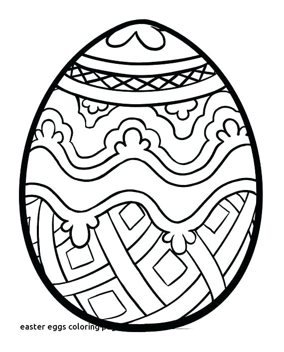 570x706 Easter Egg To Color Detail Intro Easter Egg Coloring Ideas