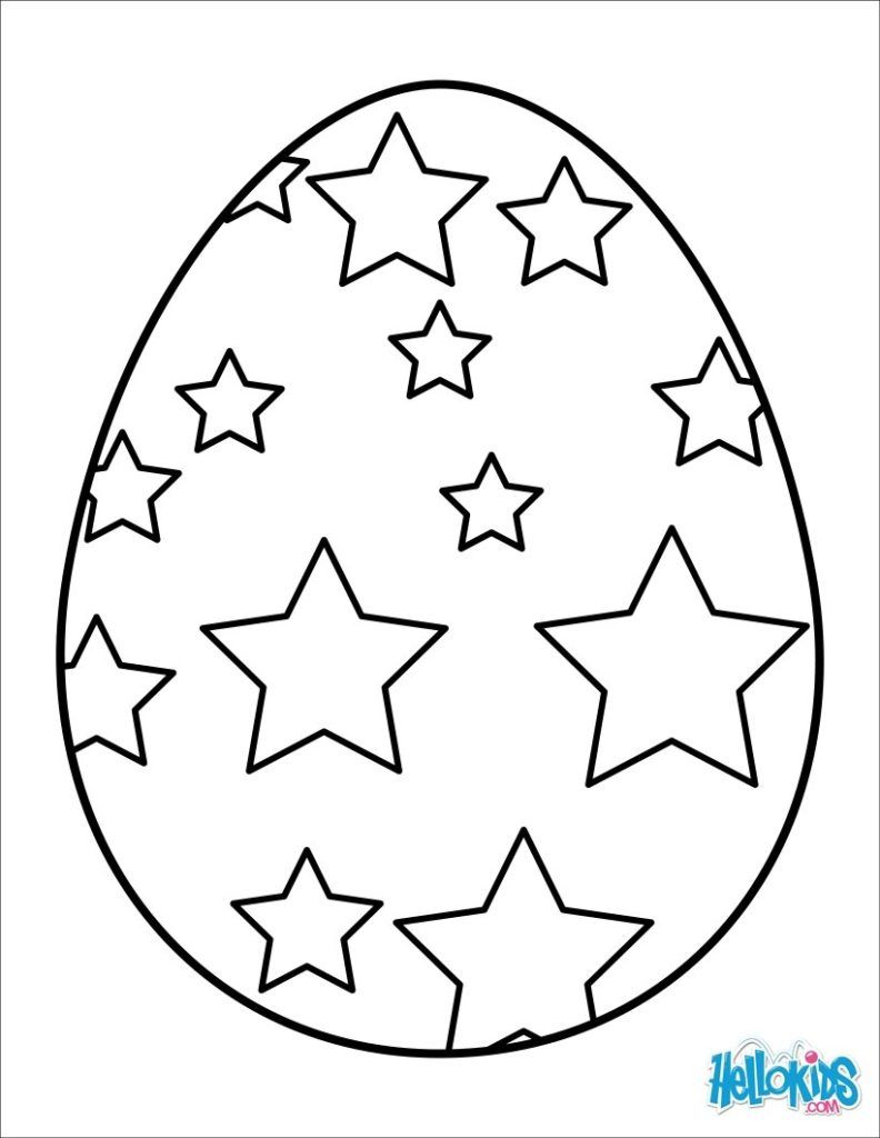 792x1024 Easter Eggs Coloring Pages Easter Bunny Eggs