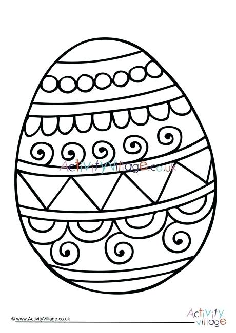 460x650 Free Egg Template Easter