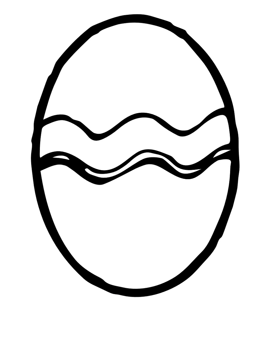 900x1163 Blank Easter Egg Template Printable Kiddo Shelter