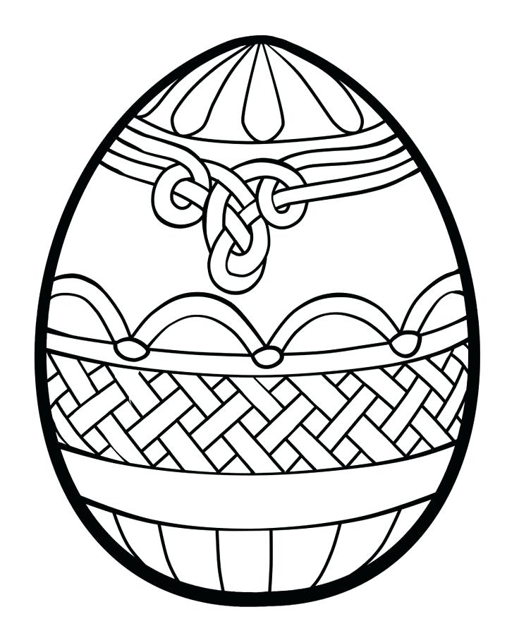 736x911 Printable Easter Egg Free Egg Template Printable Easter Egg Hunt