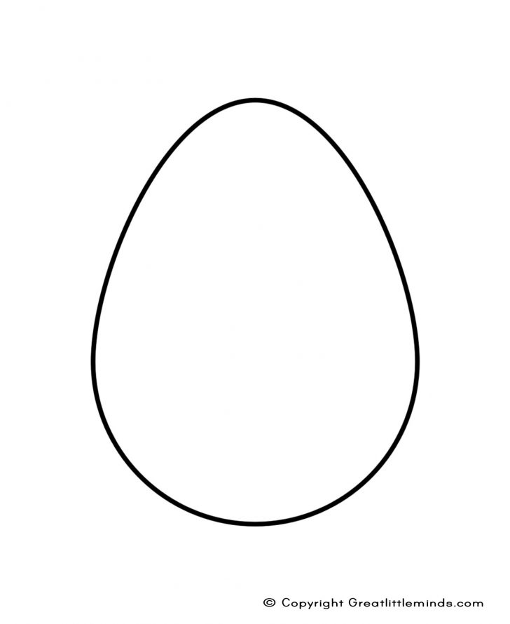 728x890 Template Easter Egg Template