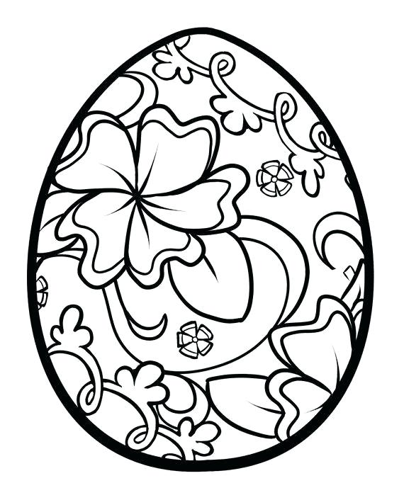570x706 Easter Egg Drawings