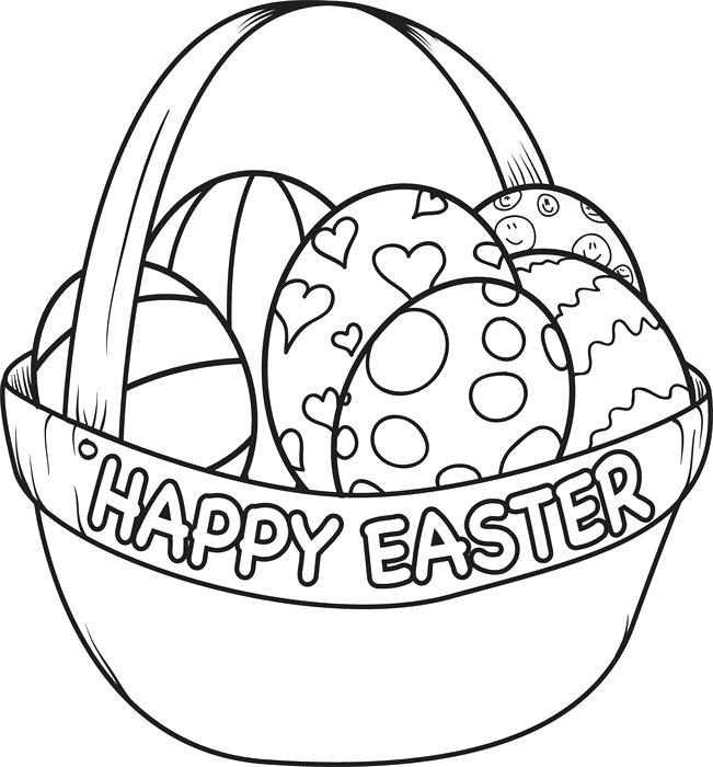 651x700 happy easter coloring pages happy coloring pages happy coloring