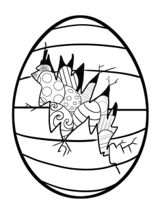 237x300 Hospers Easter Egg Hunt Coloring Contest Hospers Iowa