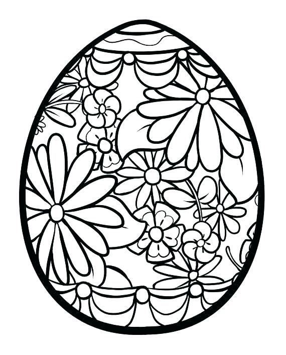 570x706 Printable Easter Egg Coloring Pages Printable Egg Coloring Pages