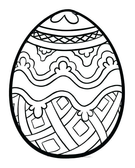 570x706 Coloring Pages For Easter Eggs