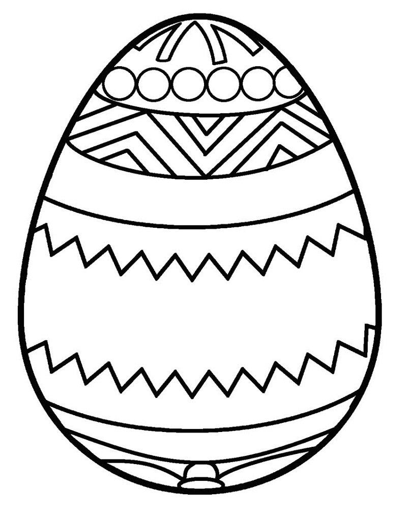 800x1005 Easter Egg Drawing Templates Hd Easter Images