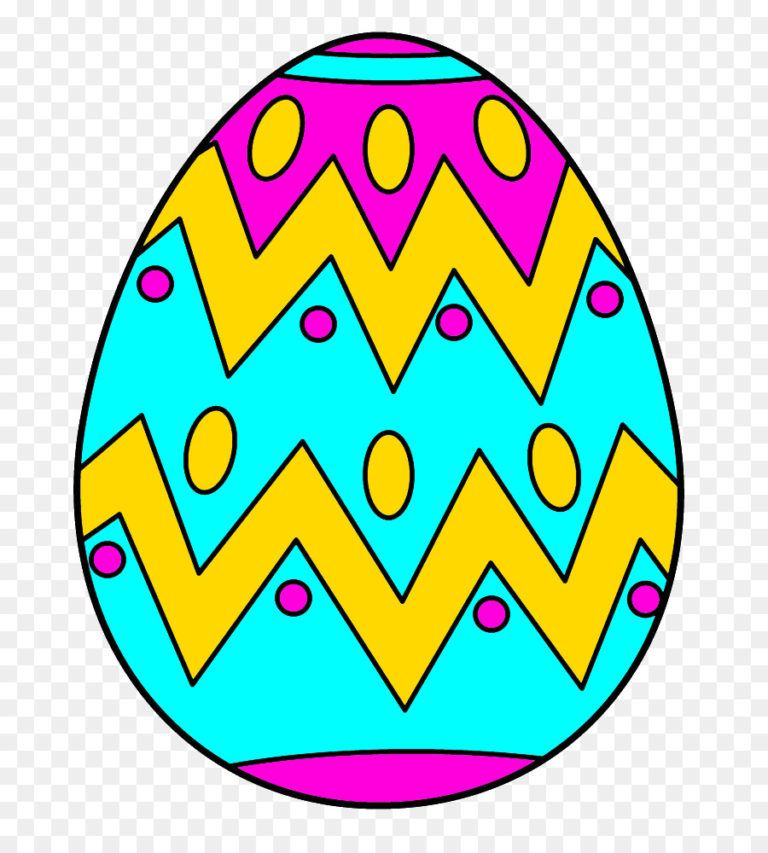 768x853 Easter Egg Drawings Easter Bunny Eggs In Coloring