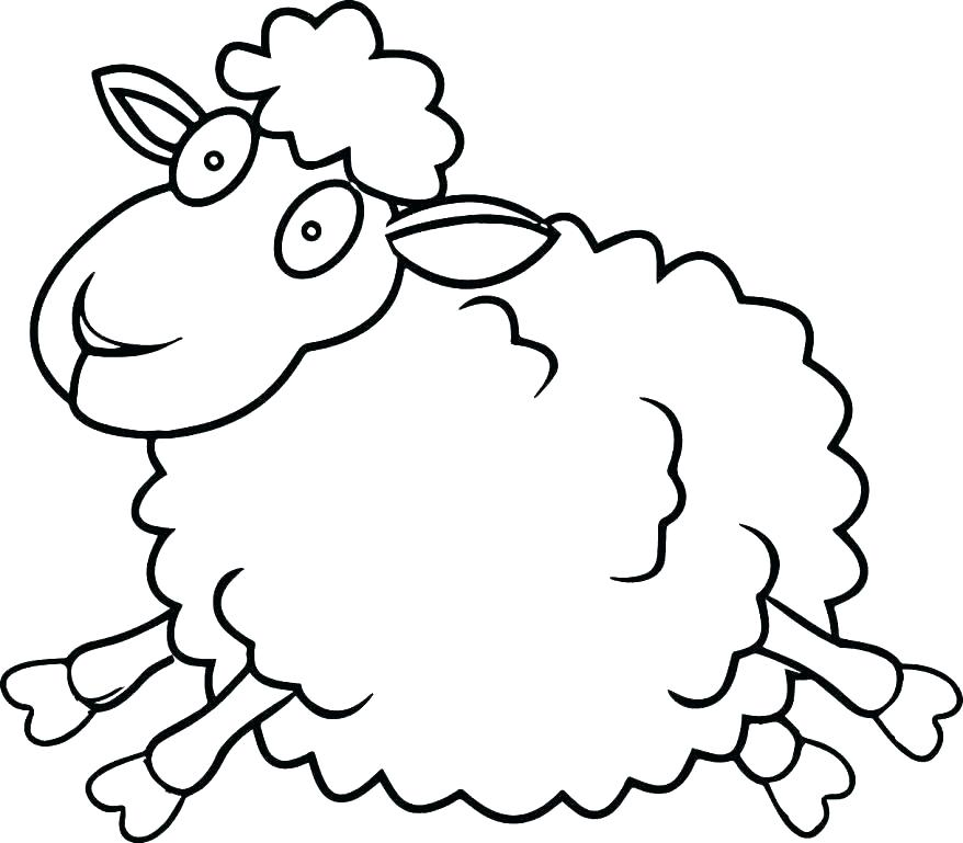 878x769 coloring pages lamb coloring pages printable free printable lamb